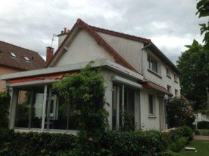 Ravalement d'une maison à Chatou 78 avant