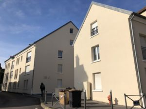 Ravalement de la résidence Mélanie à Conflans-Saint-Honorine 78 après nord