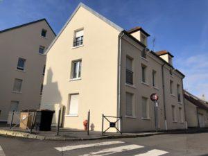 Ravalement de la résidence Mélanie à Conflans-Saint-Honorine 78 après rue