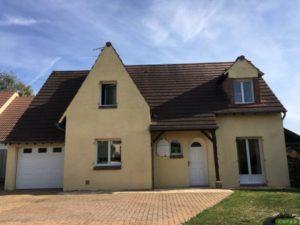Ravalement d'une maison à Villers-Saint-Frédéric 78 avant