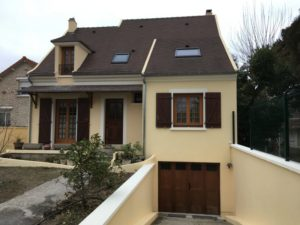 Ravalement d'une maison à Conflans Saint Honorine 78 apres