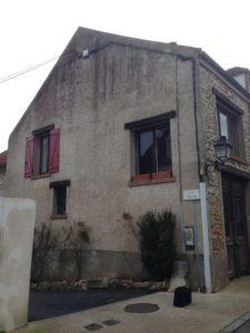 Ravalement d'une maison à Fourqueux 78 avant