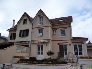 apres- Chantier d'isolation thermique par l'extérieur d'une maison à Conflans Saint Honorine 78