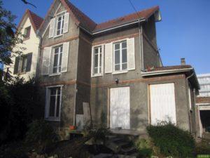avant - Chantier d'isolation thermique par l'extérieur d'une maison à Conflans Saint Honorine 78