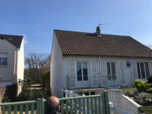 Isolation extérieure d'une maison à Conflans Ste Honorine 78 avant