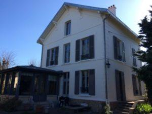 Ravalement d'une maison à Croissy Sur Seine 78 après