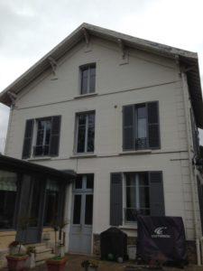 Ravalement d'une maison à Croissy Sur Seine 78 avant