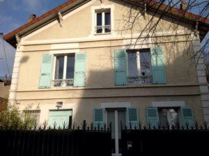 Restauration d'une maison ancienne des années 1930 à Conflans Saint Honorine 78 avant